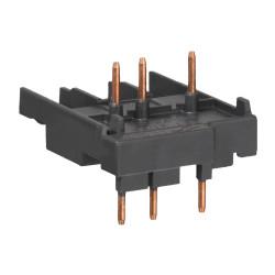Bloque conexión schneider gv2 y lc1k