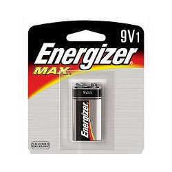 Energizer  bateria max 9v i unid.blister 522bp