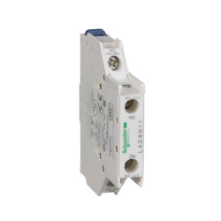 Bloque de contacto auxiliar schneider de 10a 1na/1nc lateral