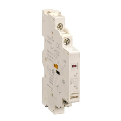 Contacto auxiliar schneider gvad lateral 1nc(señal def)+1na