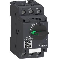 Guardamotor magnético schneider gv2l de 3x25a 50ka