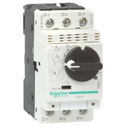 Guardamotor magnetotérmico schneider gv2p tripolar de...