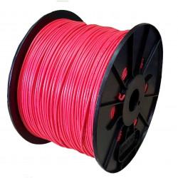 Cable unipolar 1x  1  mm2 bobina rojo iram 2183