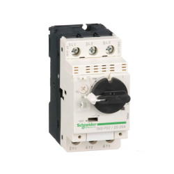 Guardamotor magnetotérmico schneider gv2p tripolar...