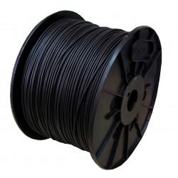 Cable unipolar 1x  1,5mm2 bobina negro iram 2183