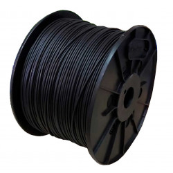 Cable unipolar 1x  2,5mm2 bobina negro iram 2183