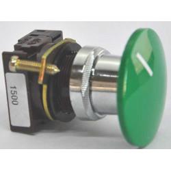 Botonera aea 1100 n impulso saliente d22 verde