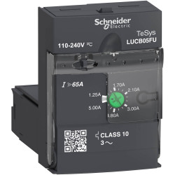 Unidad de control schneider lucb av.c10 3p 1,25 5a 110...