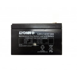 Bateria lyonn b127n 12v 7ah electrolitio absorbido