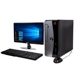 Pc con monitor exo ready c2-h3145s intel i3-9100f 500gb...
