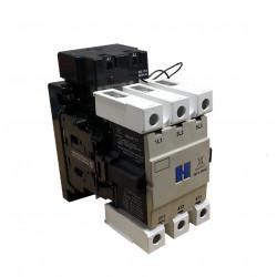 Contactor montero t3 mc2-50 22e 2na+2nc de 50a 22kw
