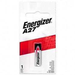 Pila alcalina energizer a27 12v para control remoto