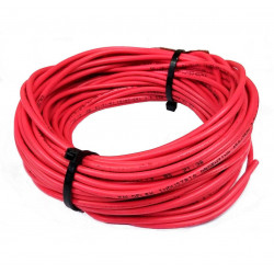 Cable unipolar 4,00mm2 x 3mts rojo