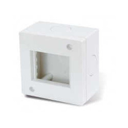 S.xxii caja exterior 2 modulos ip40 c/torn y tarugo