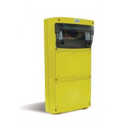 Caja box cambre para tablero multifuncion ip55 amarillo