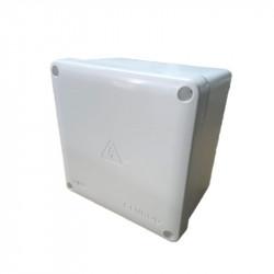 Caja de paso genrod 22161611b pvc ip65 blanca 165x165x110