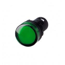 Piloto multiled tbc 24vca 22mm verde