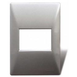 Tapa cambre mignon sxxii de 2 módulos aluminio