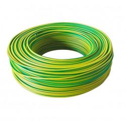 Cable unipolar 35 mm2 verde amarillo norma iram 2183