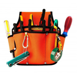 Cartuchera toolmen t90 grande para electricistas sin...