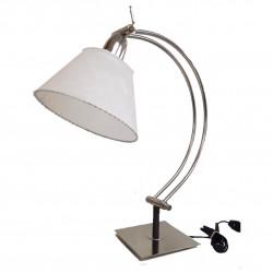 Lámpara jv de mesa platil con pantalla