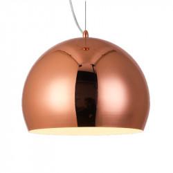 Colgante markas alyssa esfera para 1 luz e27 30cm cobre