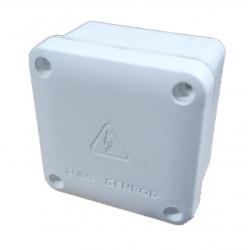 Caja de paso genrod 22090905b pvc ip65 blanca 90x90x55