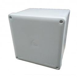 Caja de paso genrod 22212116b pvc ip65 blanca 210x210x165