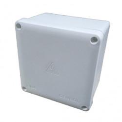 Caja de paso genrod 22212111b pvc ip65 blanca 210x210x110