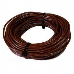 Cable unipolar 6,00mm2 x 3mts marron
