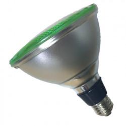 Lámpara led tbc par38 e27 de 12w luz verde