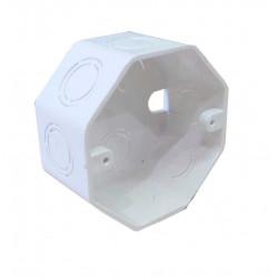 Tecnocom - caja pvc octogonal