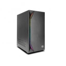 Gabinete gamer atx jalatec jt-lx78 de 500w con luz led