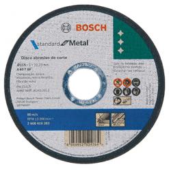 Disco de corte bosch inoxidable std115 cx50d