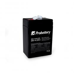 Bateria probattery para luz autonoma 20w 6v 4.5ah