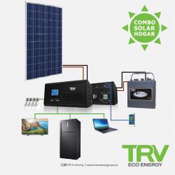 Kit 3 energia solar trv off grid pantalla solar +...