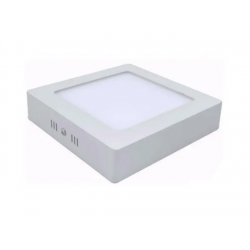 Plafon silverlight cuadrado 12w 220-240v 900lm 3000k 17x17cm