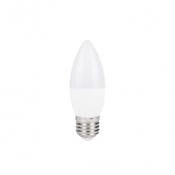 Lámpara led interlamp velita 5940v-w e27 5w luz blanco...
