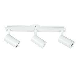 Spot candil tempano 3 luces gu10 blanco regleta