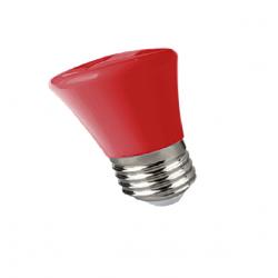 Lámpara led tbc gota a60st e27 de 2w para guirnalda luz roja