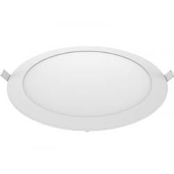 Panel led silverlight sldlr18wc redondo de 18w 220-240v...