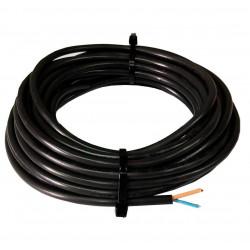 Cable vaina redonda  2 x 1 mm2 x  5 mts.