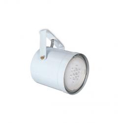 Spot san justo ros movil para ar111 gu10 blanco con soporte
