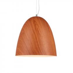 Colgante markas olive m81-1b e27 simil madera de 30cm