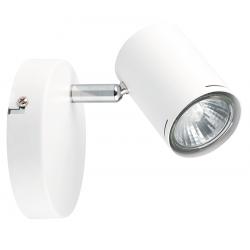 Aplique markas hafdis para 1 luz gu10 color blanco cromo