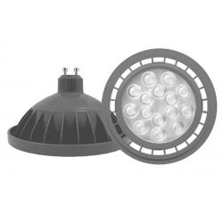 Lámpara led tbc ar111 gu10 de 15w luz cálida