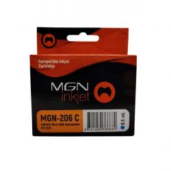 Cartucho para epson alternativo cian magna 206 xp2101