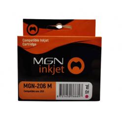 Cartucho para epson alternativo magenta magna 206 xp2101