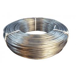 Cable redondo estañado transparente 2x0,50mm