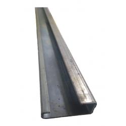 Riel zoloda 805.001 asimetrico 32mm sin perforar